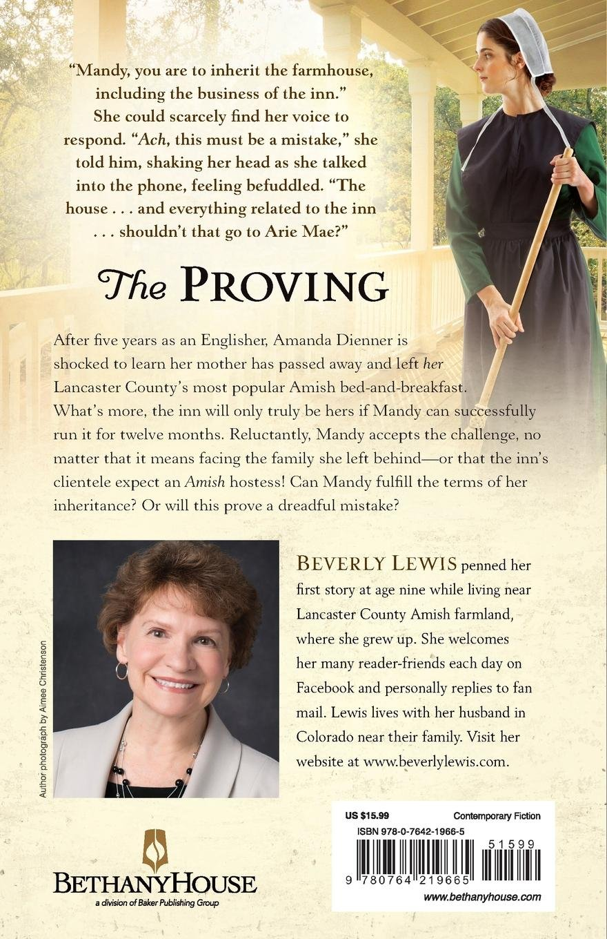 Amazon.com: The Proving (9780764219665): Beverly Lewis: Books