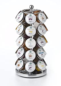 Nifty Starbucks Verismo Capsule Carousel-Holds 35 Verismo Capsules