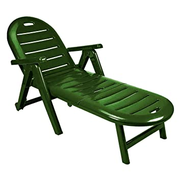 a94b9973b Shaf 42609 Garden - Tumbona Plegable, Verde, 56 x 189 x 69 cm: Amazon.es:  Jardín