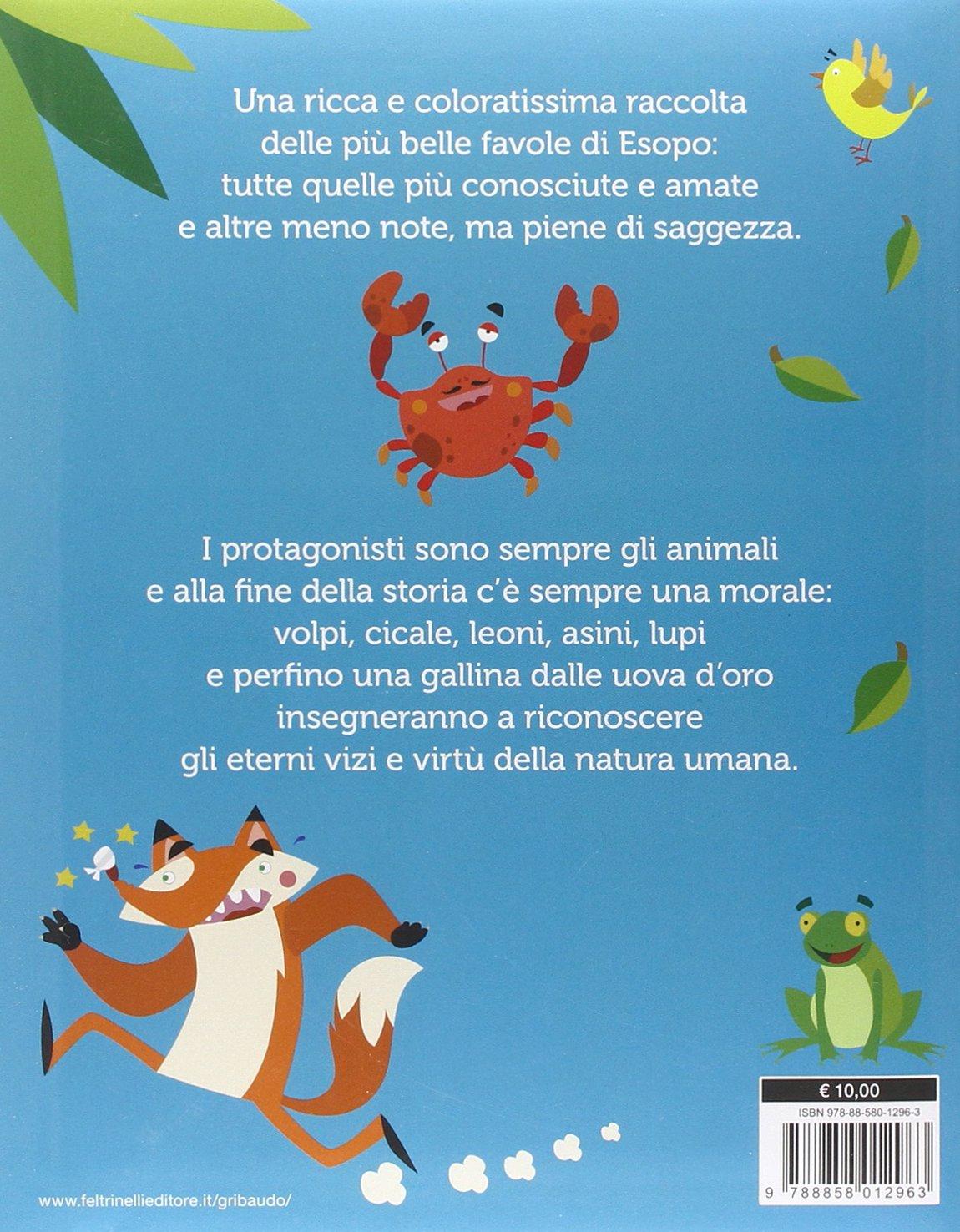 Favole Di Esopo 9788858012963 Amazoncom Books