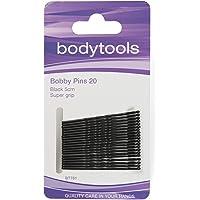 Body Tools Hair Bobby Pins 20 Pack, Black