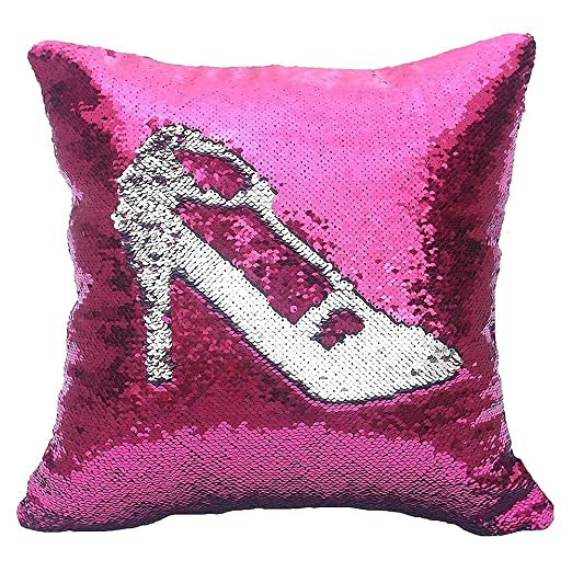 "Magic Reversible Sequins Mermaid Pillow Cases Throw Pillow Covers 16""x16"