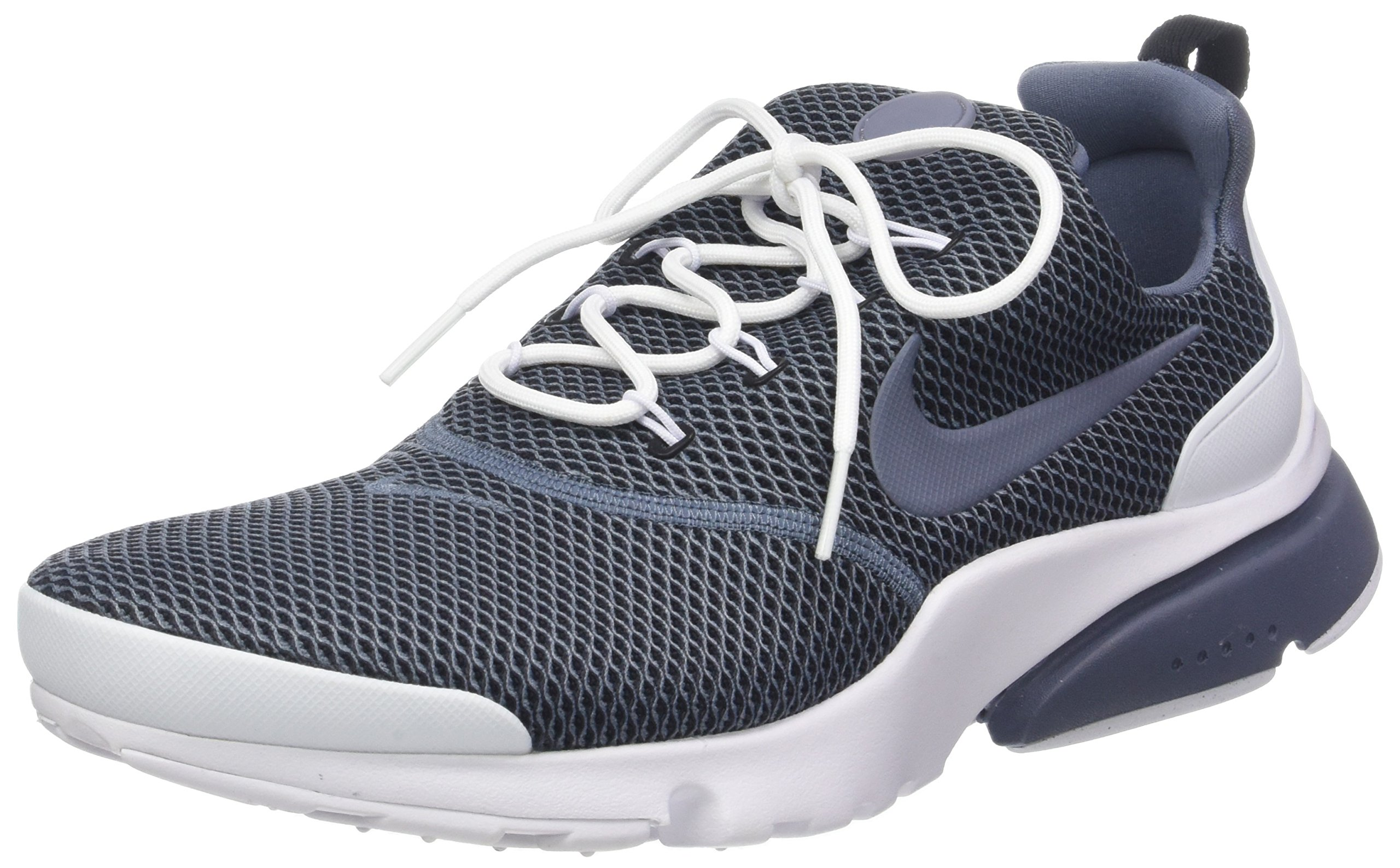 Nike Mens Presto Fly Se Fabric Low Top Lace Up Running Sneaker, Blue, Size 8.0