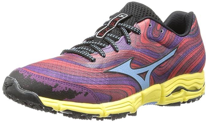 Mizuno Wave Kazan Mujer US 6.5 Morado Zapato para Correr: Amazon.es: Ropa y accesorios