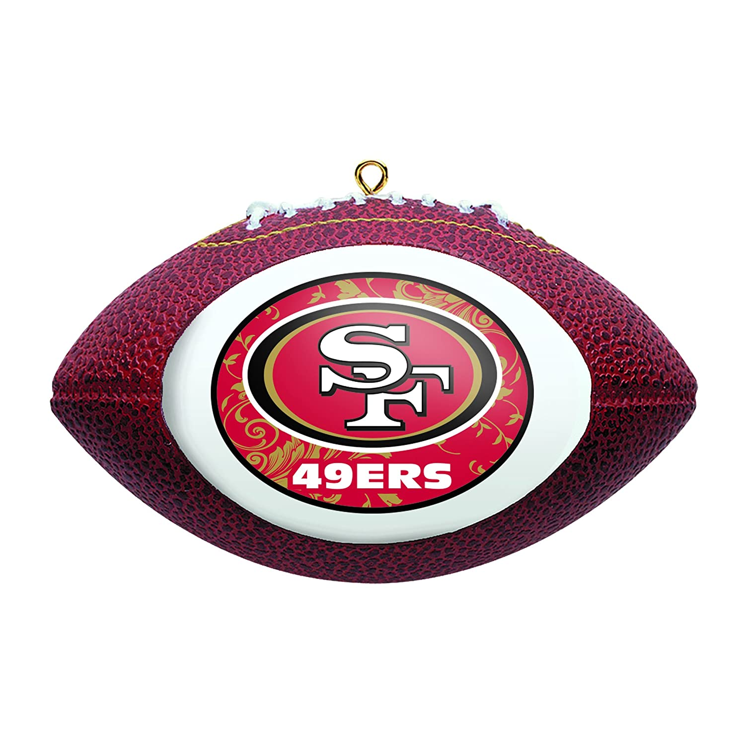 Boelter Brands NFL San Francisco 49ers Replica Football Ornament