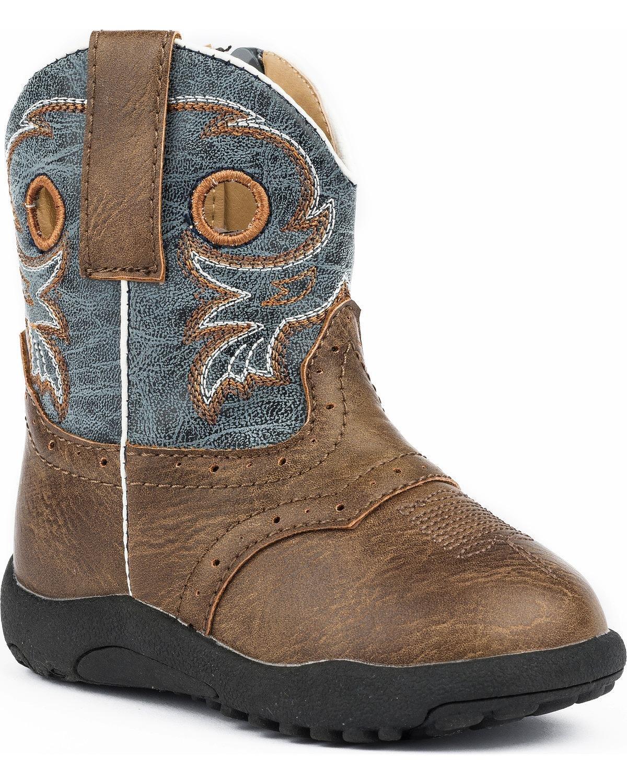 Roper Cowbabies Daniel Blue Boots