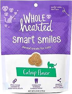 Petco Brand - WholeHearted Smart Smiles Catnip Flavor Cat Dental Treats, 6.3 oz.
