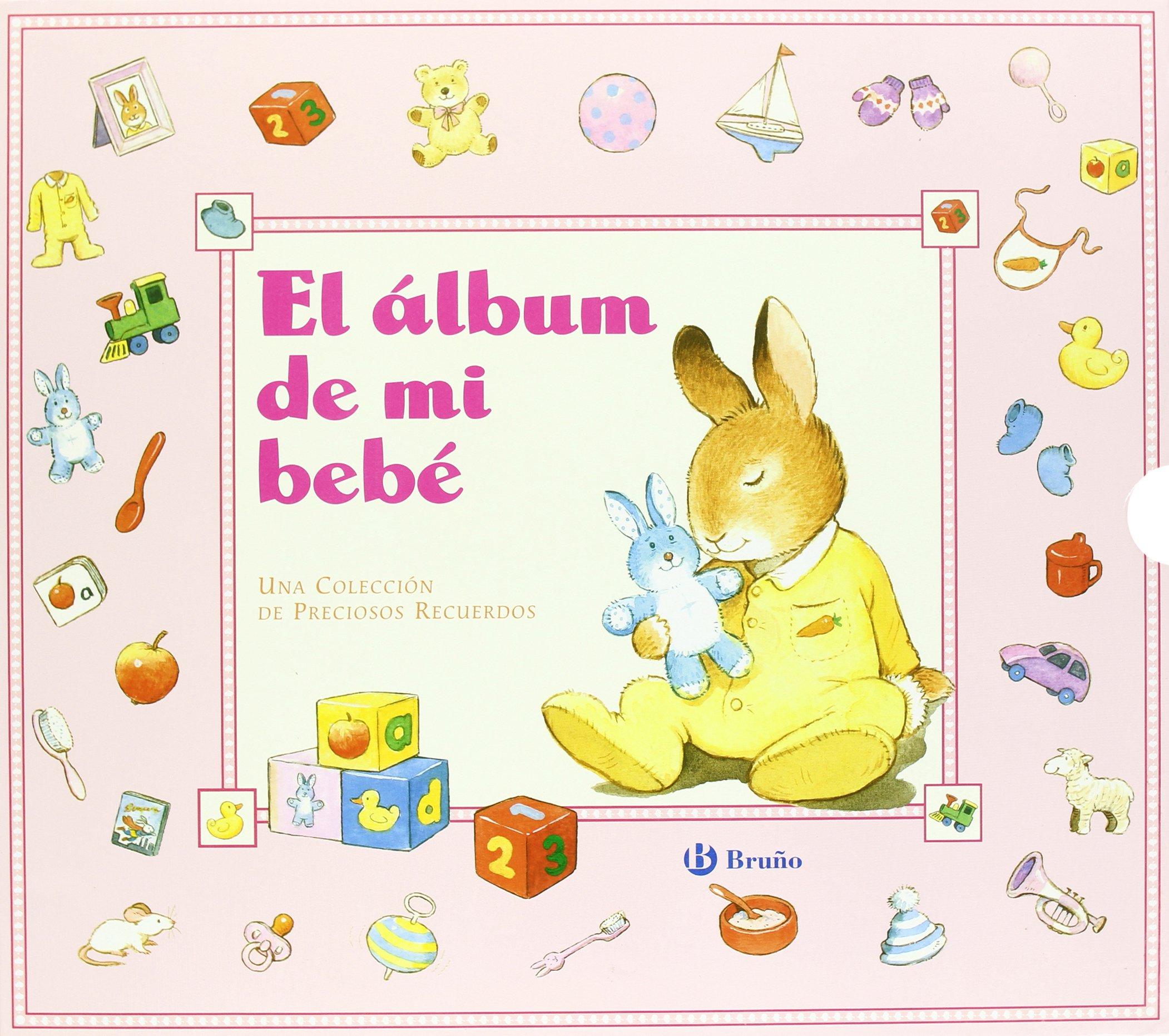 4fc6ed982 El álbum de mi bebé rosa Castellano - A Partir De 0 Años - Álbumes Del Bebé   Amazon.es  Peter Stevenson