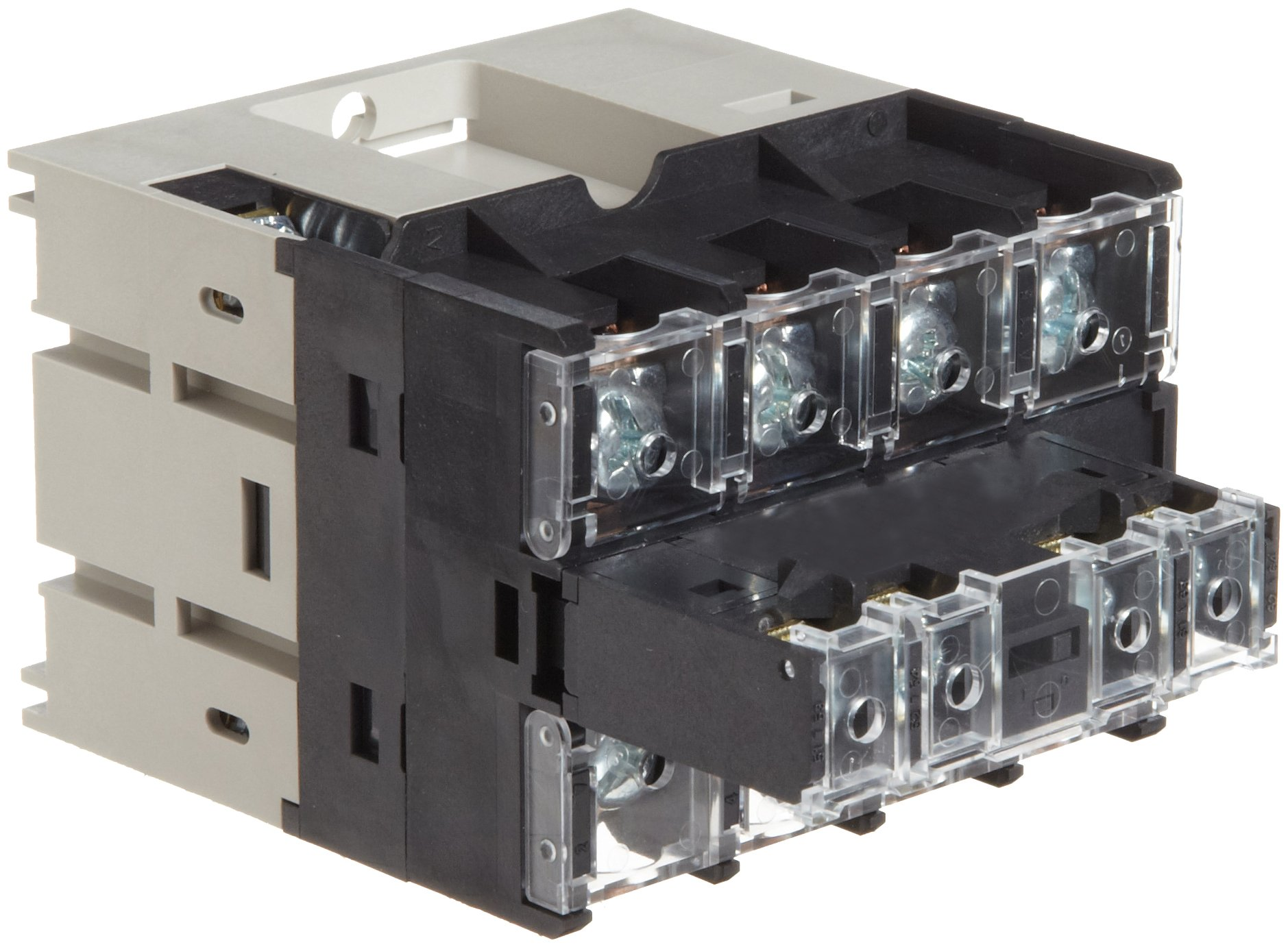 Omron G7Z-4A-20Z DC12 Power Relay with Auziliary Contact Block, Screw Terminal, Quadruple Pole Single Throw Normally Open Relay Contacts, Double Pole Single Throw Normally Open Auxiliary Contact Block Contacts, 333 mA Rated Load Current, 12 VDC Rated Load