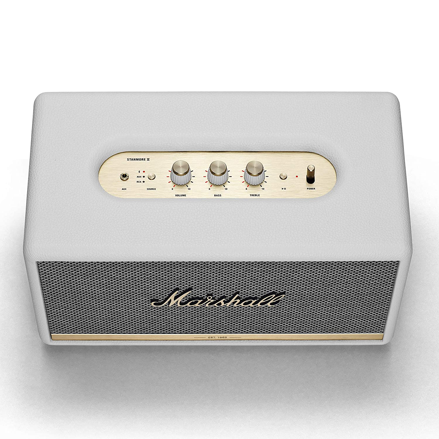 Marshall Stanmore II - Altavoz Bluetooth, color blanco: Amazon.es: Electrónica