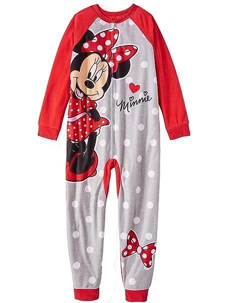 Amazon.com: Disney Minnie Mouse - Pijama sin pie para niña ...