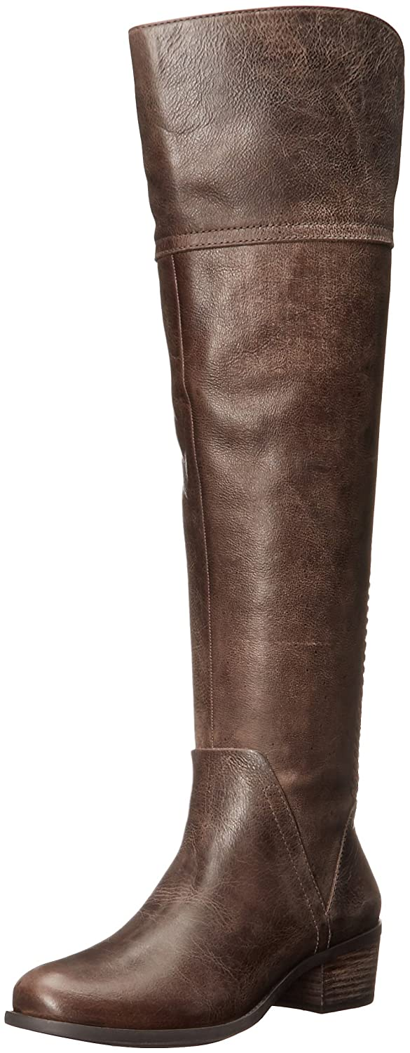 Vince Camuto Women's Bendra Riding Boot B01J6E2B3Y 8 B(M) US|Bomber Grey/Wide Calf
