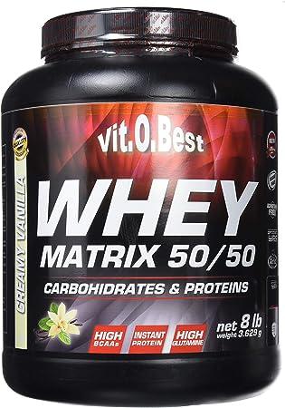 Vitobest Whey Matrix 50/50, Aroma de Vainilla - 3628 gr ...