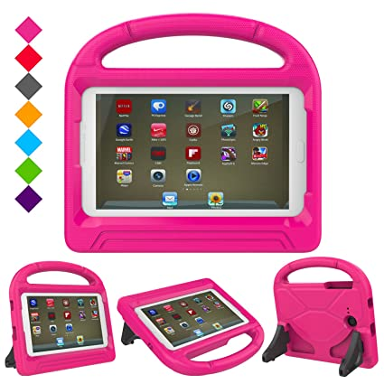brand new 66b0a bef77 Kids Proof Case for Samsung Tablet 7 inch-Dinines Samsung Galaxy Tab E Lite  Case Light Weight Kids Children Case Super Protection Cover Handle Stand ...