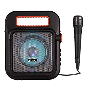 boAt PartyPal 20 Wireless Party Speaker, Party Sound (15W), BT...