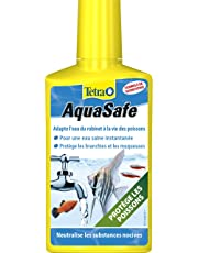 TETRA AquaSafe - Conditionneur d'Eau pour Aquarium Poissons tropicaux - 250ml