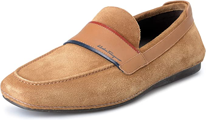 Florida Suede Leather Loafers Shoes