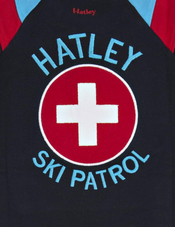Hatley Baby Boys Kangaroo Pocket Romper Ski Patrol