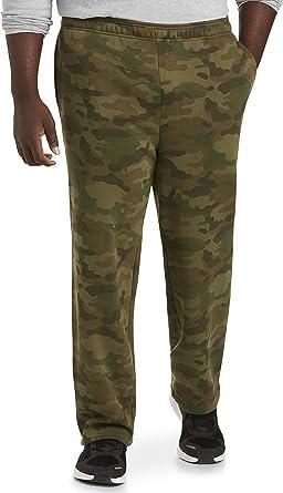 Essentials Mens Big /& Tall Fleece Sweatpant fit by DXL