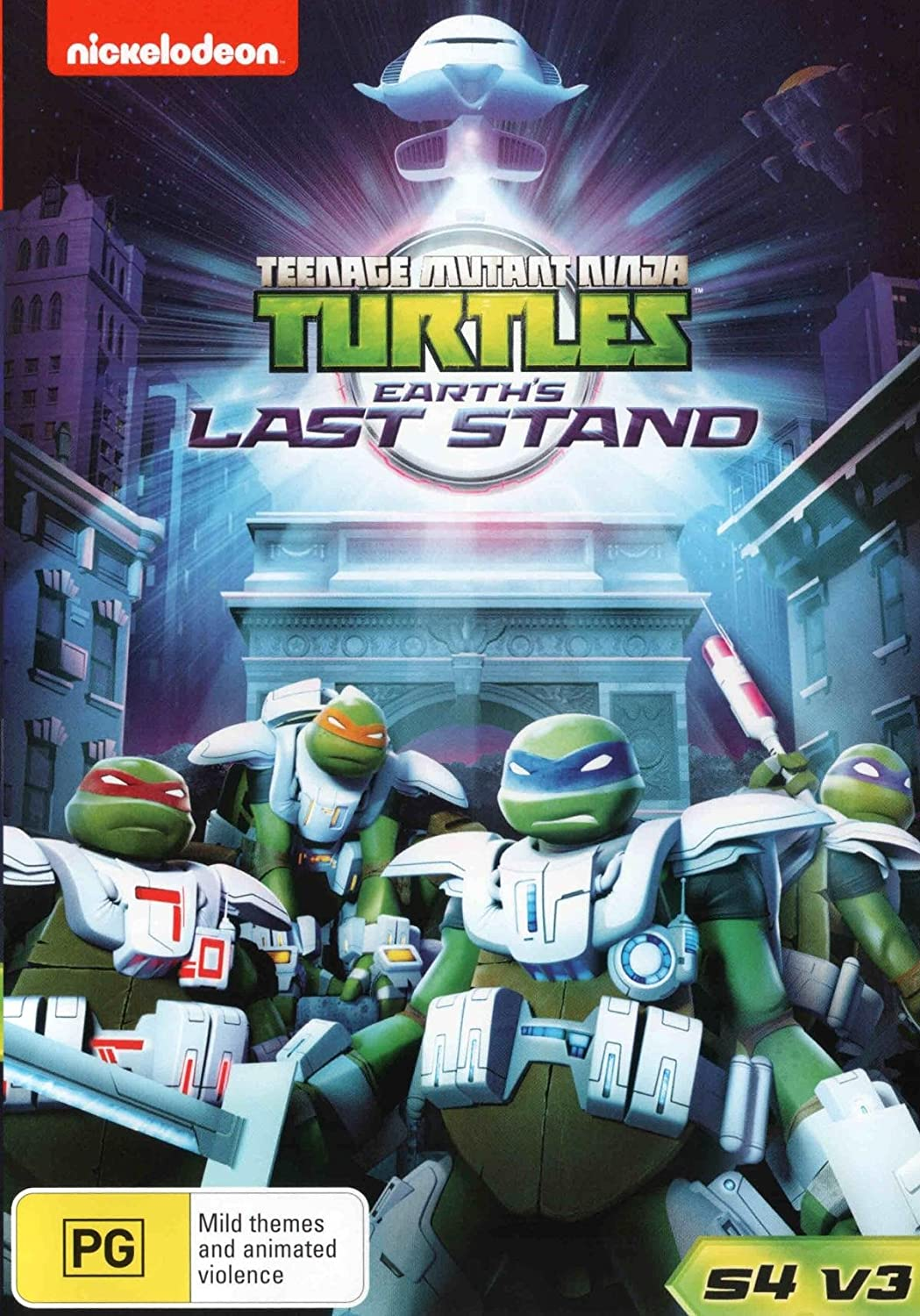 Amazon.com: Teenage Mutant Ninja Turtles: Earths Last Stand ...