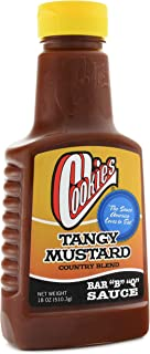 product image for Cookies Tangy Mustard Country Blend BBQ Sauce, 18 Ounce