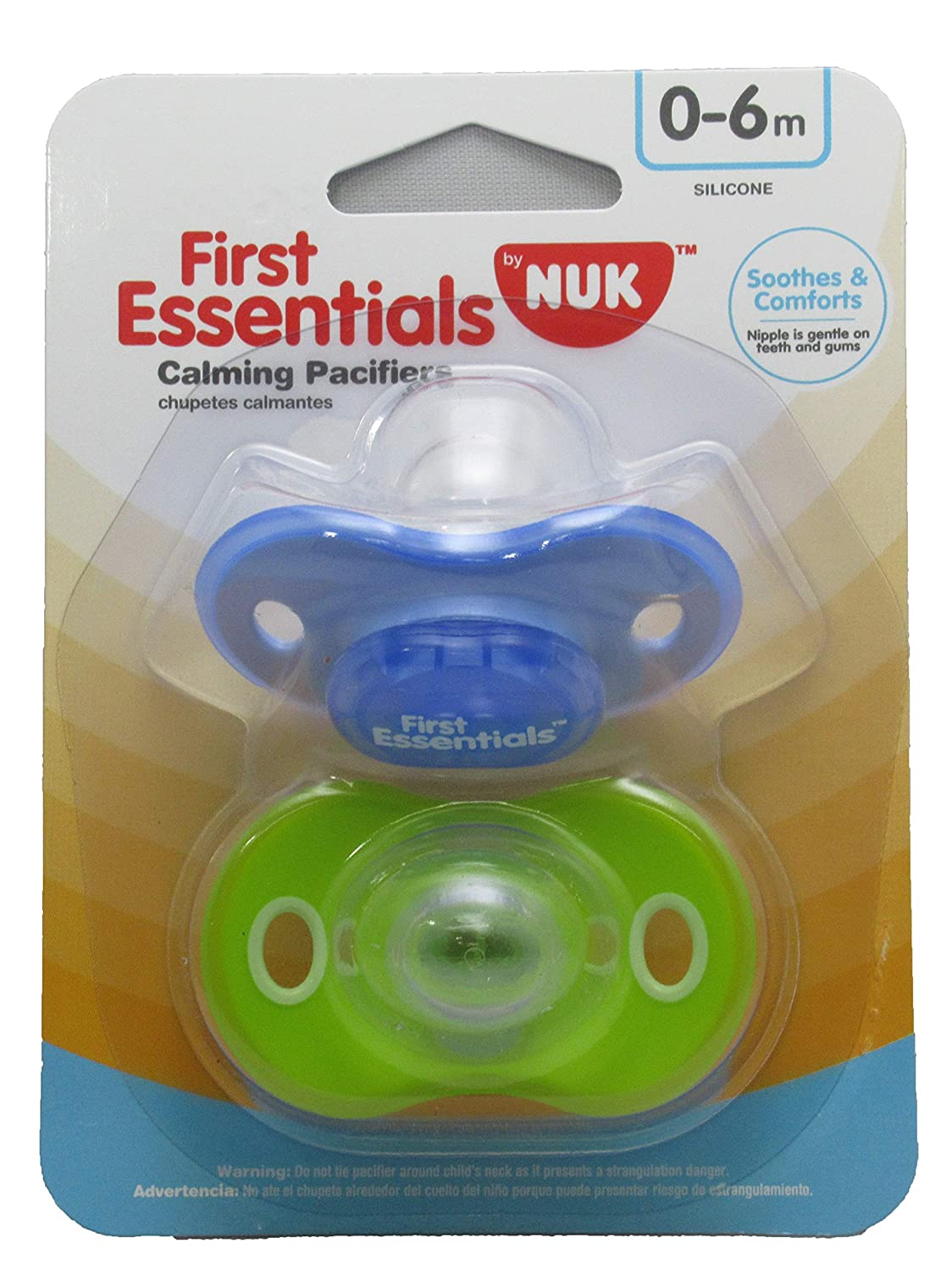 Gerber First Essentials Calming Pacifier (Blue)