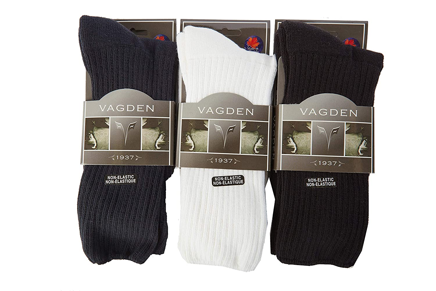 100% Cotton Cushion Sole Diabetic Socks (2 Pair) SoxShop