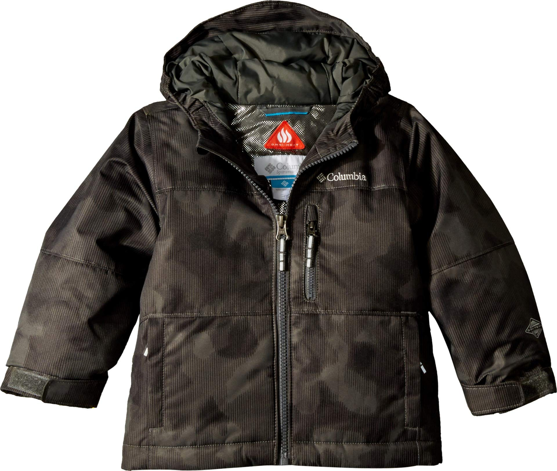 Columbia Kids Baby Boy's Magic Mile Jacket (Toddler) Grill Camo Lines 2T Toddler