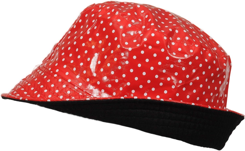TOUTACOO Cappello da Pioggia in Vinile Impermeabile