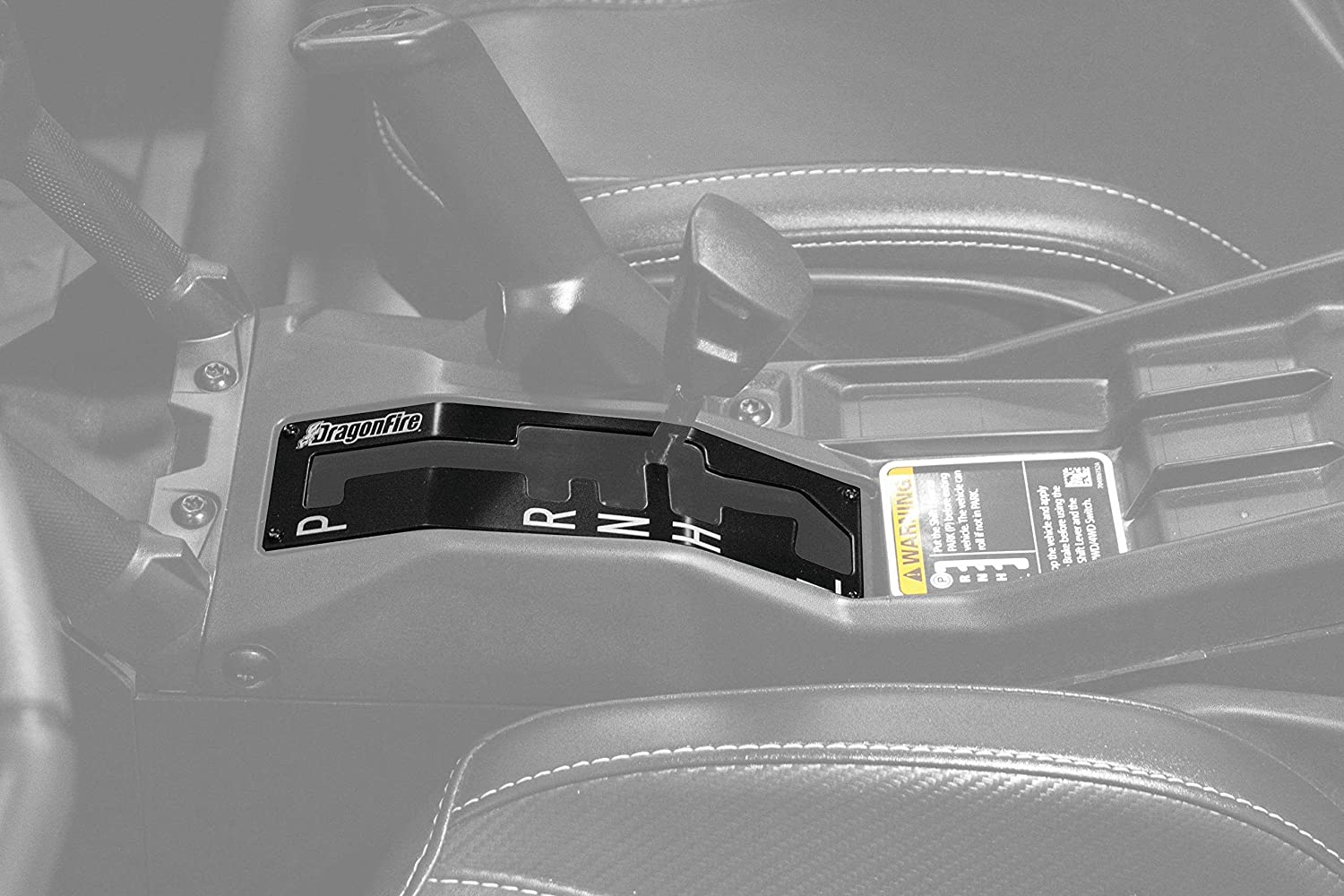 KEMIMOTO Racing Shift Gate Compatible with Can Am Maverick X3 X3 Shift Gate Lever Indicator