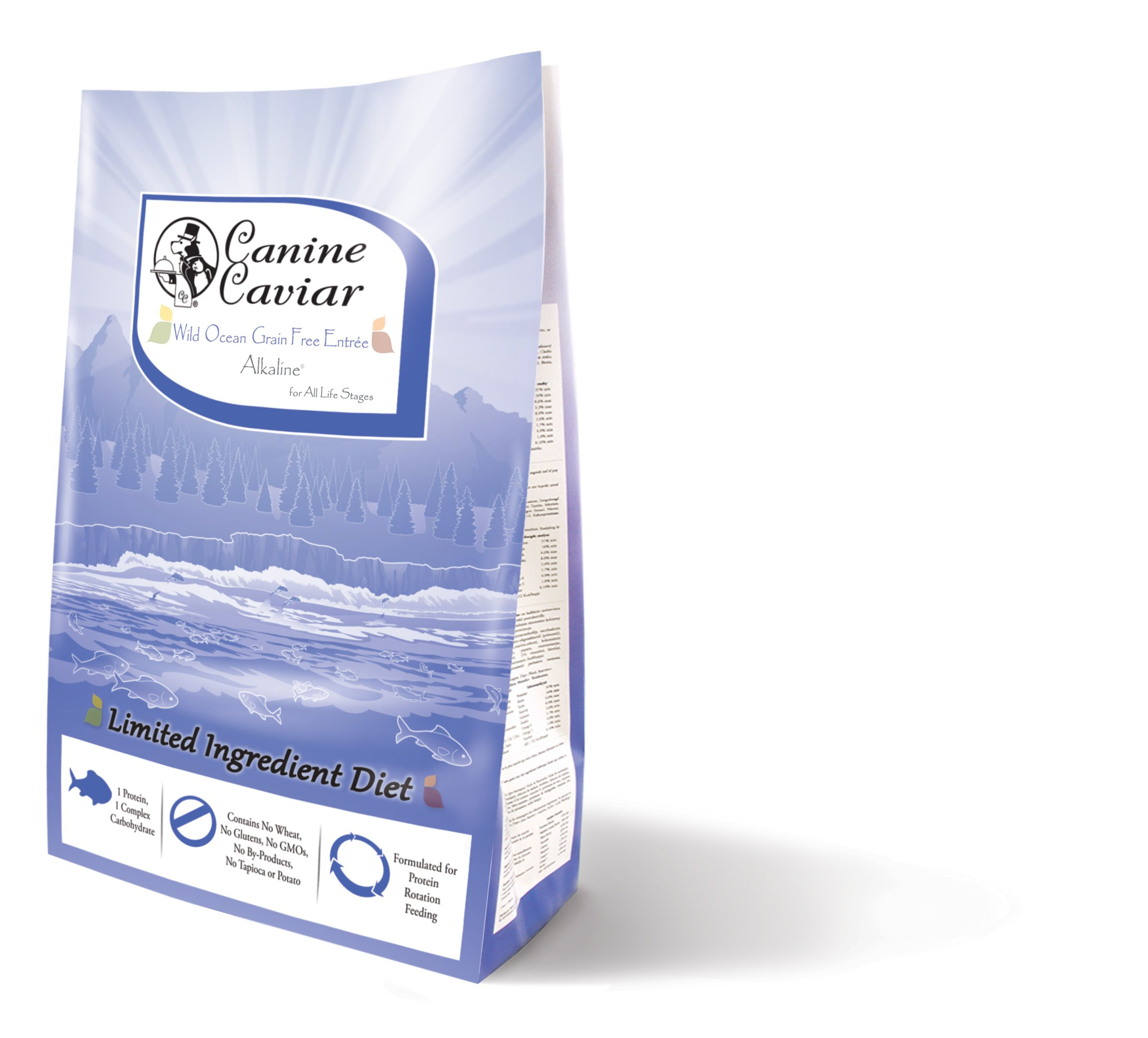 Canine Caviar Wild Ocean Holistic Grain Free Entree All Life Stages, 24lb