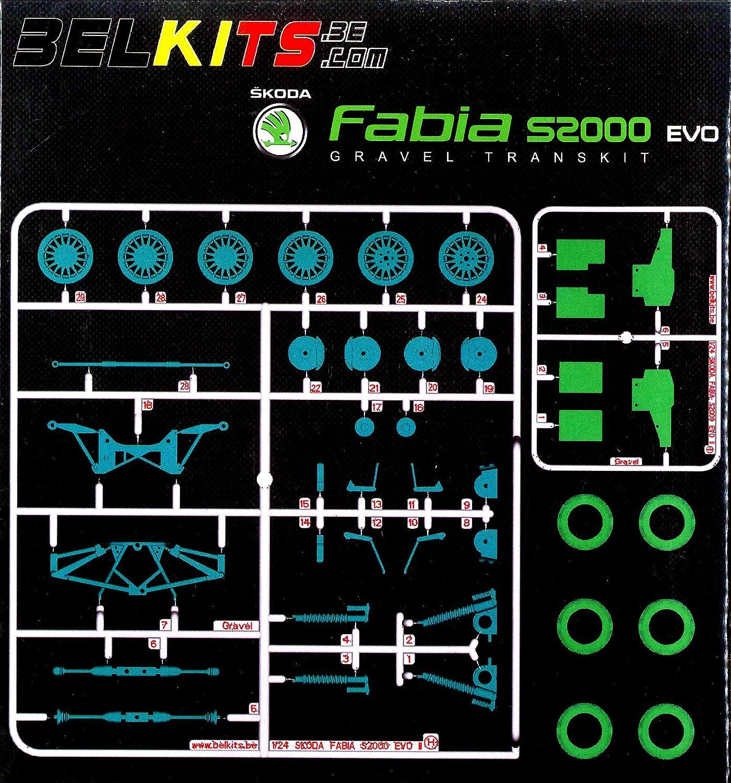 24.01 Bell-Kit fuer Detail up Teile No.2 Kies Transformator-Kit (fuer Skoda Fabia S2000EVO)