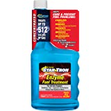 Star Tron Enzyme Fuel Treatment Concentrate - Rejuvenate & Stabilize Old Gasoline, Cure Ethanol Problems, Improve MPG, Reduce