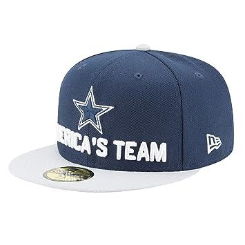 Dallas Cowboys Gorra New Era 2018 para Hombre, 7 1/8, Azul/Gris ...