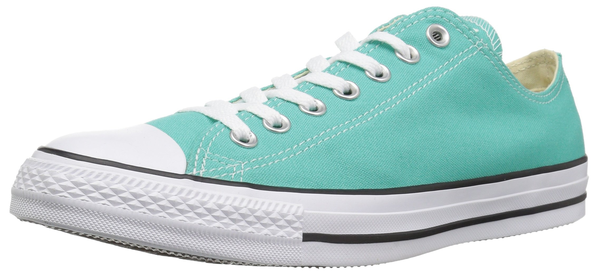 Converse Chuck Taylor All Star 2018 Seasonal Low Top Sneaker, Pure Teal, 8 M US