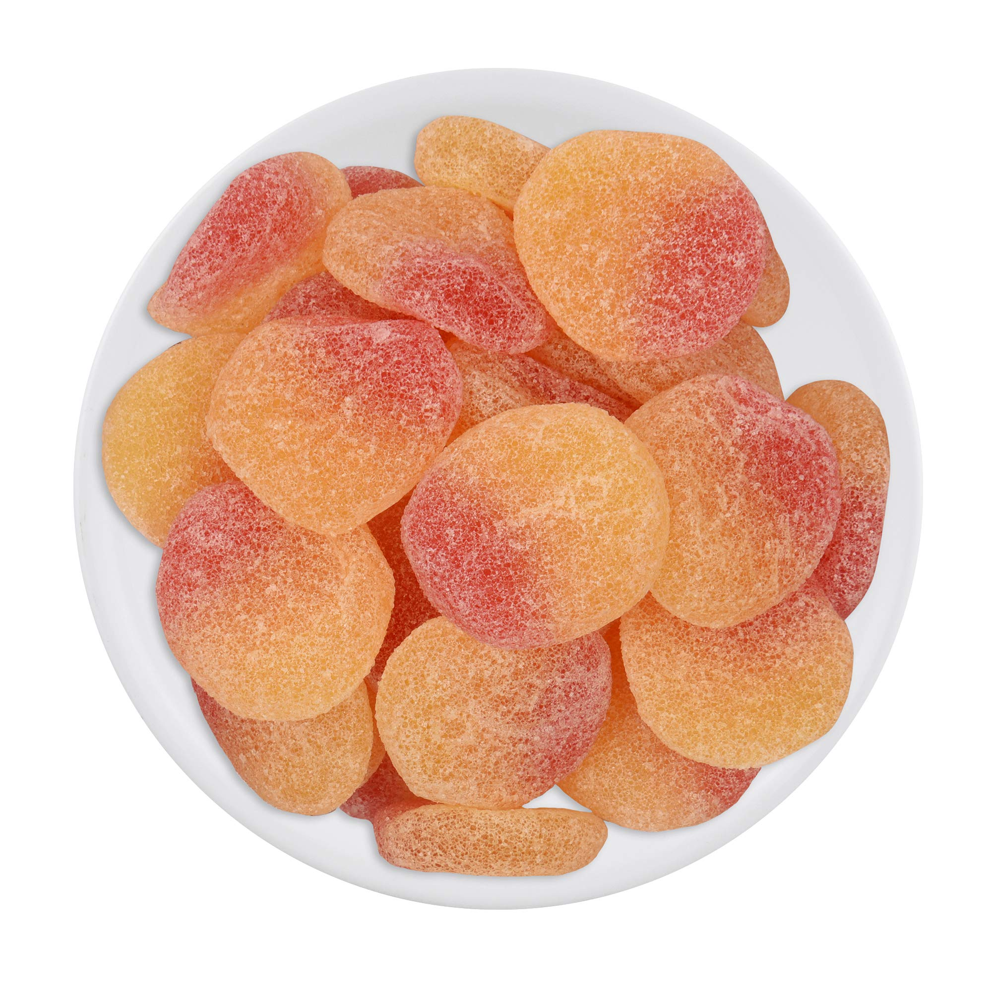 House Of Candy Fizzy Peaches- Peach Flavor Jellies- Sugar Coated, Jujube Candies (B07Z7WB92H) Amazon Price History, Amazon Price Tracker