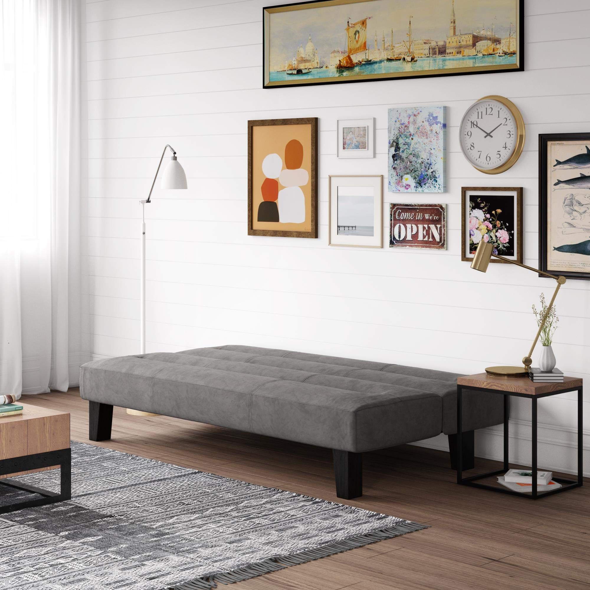 Kebo Futon Sofa Bed, Multiple Colors by Dorel