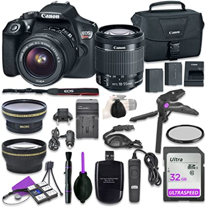 Amazon Com Canon Eos Rebel T6 Digital Dslr Camera Bundle