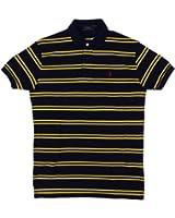 Polo Ralph Lauren Men's Classic Fit Pony Logo Striped Polo Shirt