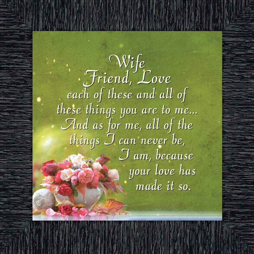 Friend Romantic Picture Frame 10x10 8635B Elegantly Yours Wife Love; Romantic Gifts for Wife from Husband