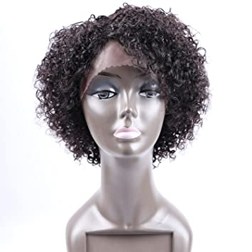 Brilliant Amazon Com Fani Short Curly Wigs For Black Women 8A Curly Hairstyles For Men Maxibearus
