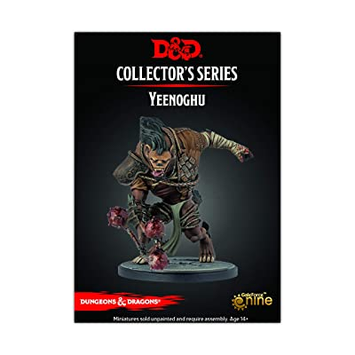 D&D Avernus Minitures Yeenoghu (1 fig): Toys & Games