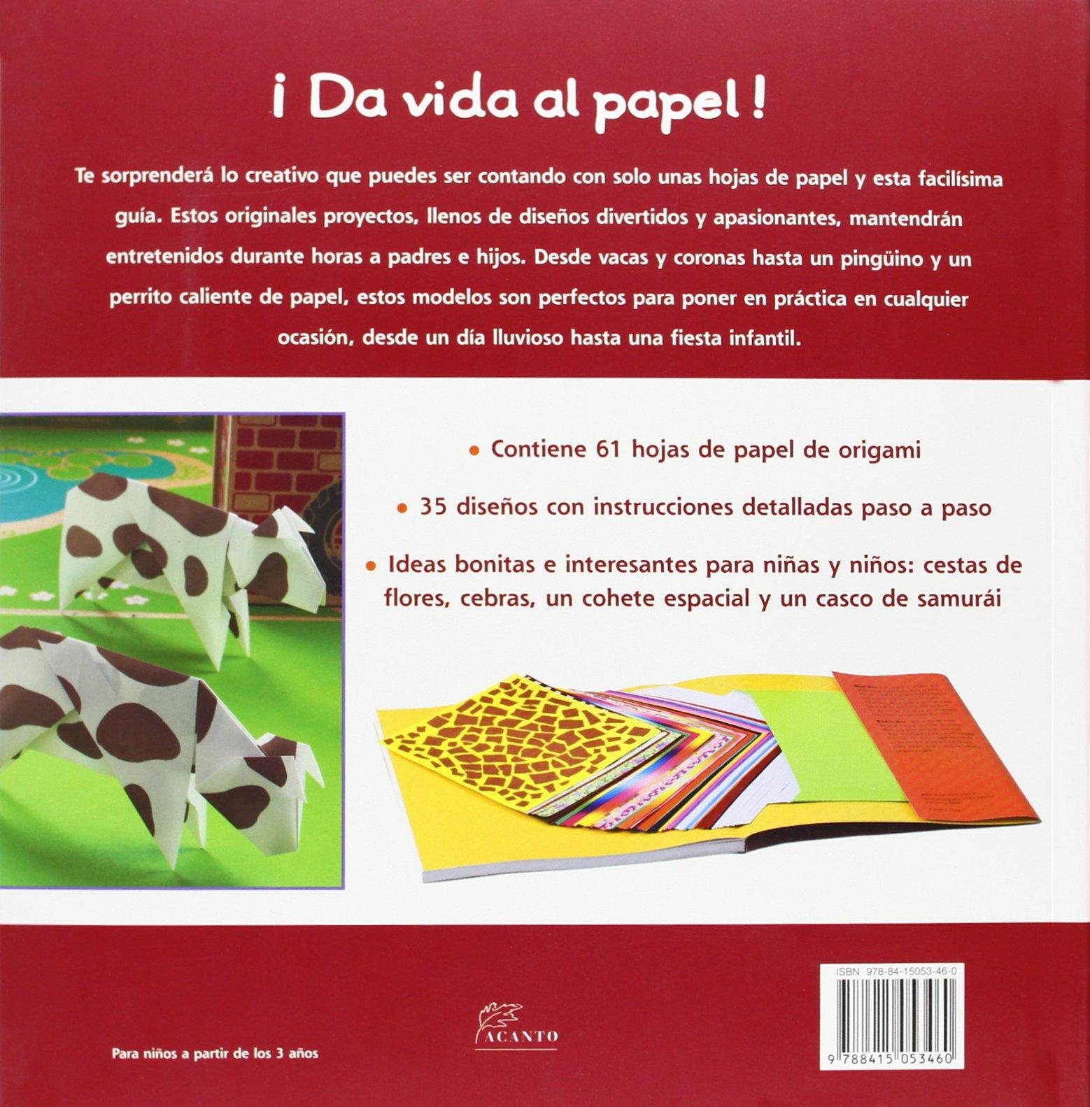 ORIGAMI PARA NI?S: Mari;Ono, Roshin Ono: 9788415053460: Amazon.com: Books