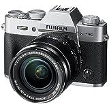 w/ XF18-55mm , Silver , Base : Fujifilm X-T20 Mirrorless Digital Camera w/XF18-55mmF2.8-4.0 R LM OIS Lens - Silver