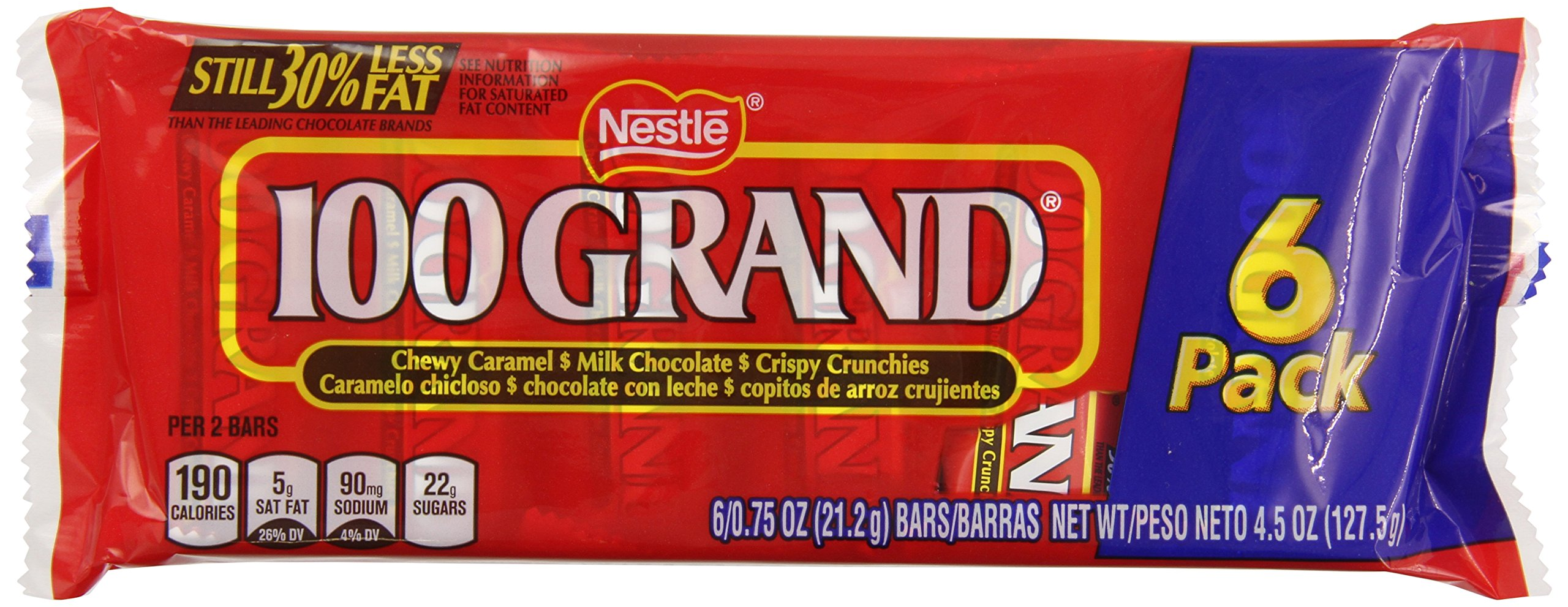100 Grand Snack Tray, 6 Count (Pack of 24)