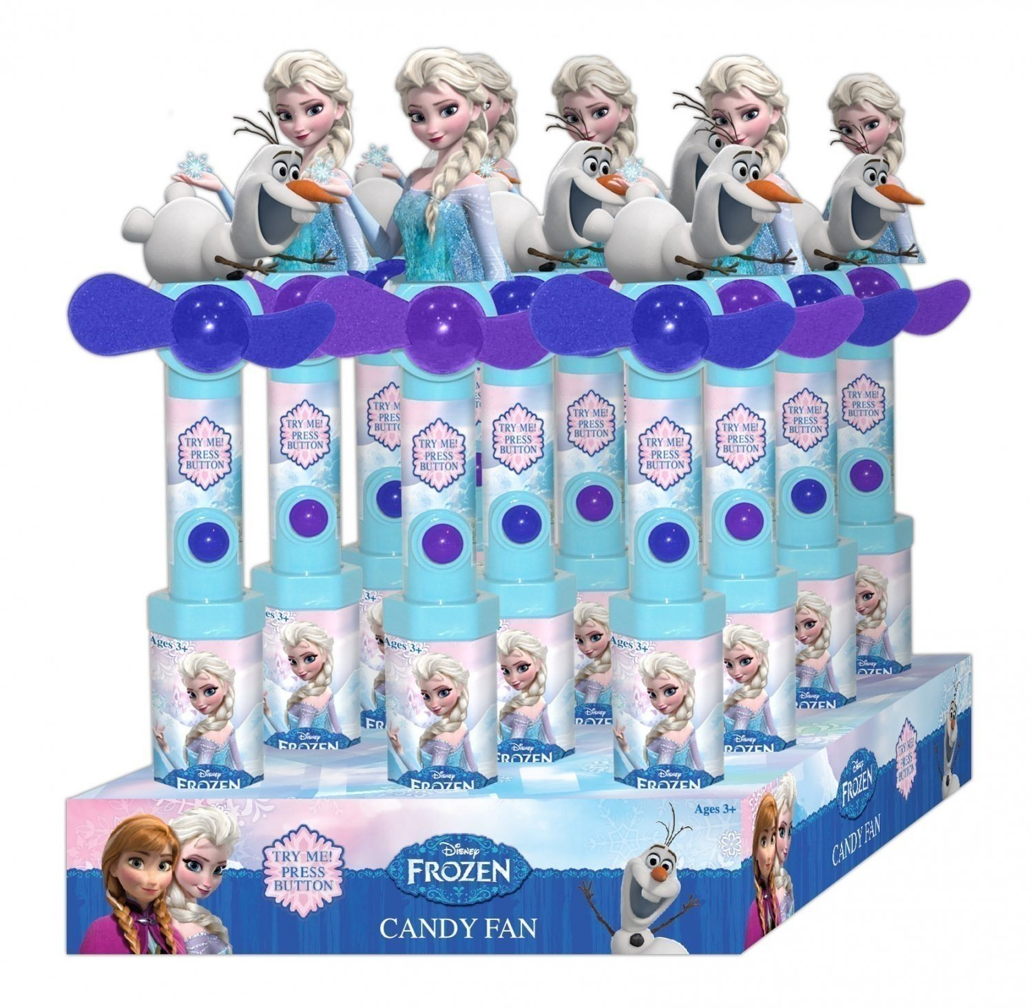 Disney Frozen Candy Filled Fan 12ct by CandyRific