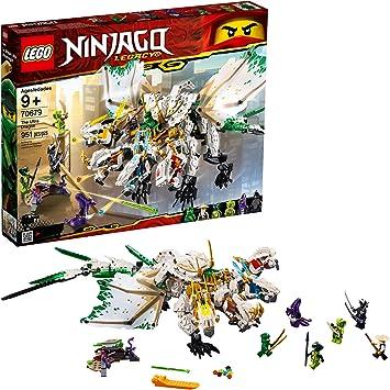 Amazon.com: LEGO Ninjago Legacy El Ultra Dragon 70679 Kit de ...