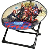 Disney Moon Chair Avengers, Folding Round Soft Padded Chair for toddlers, kids