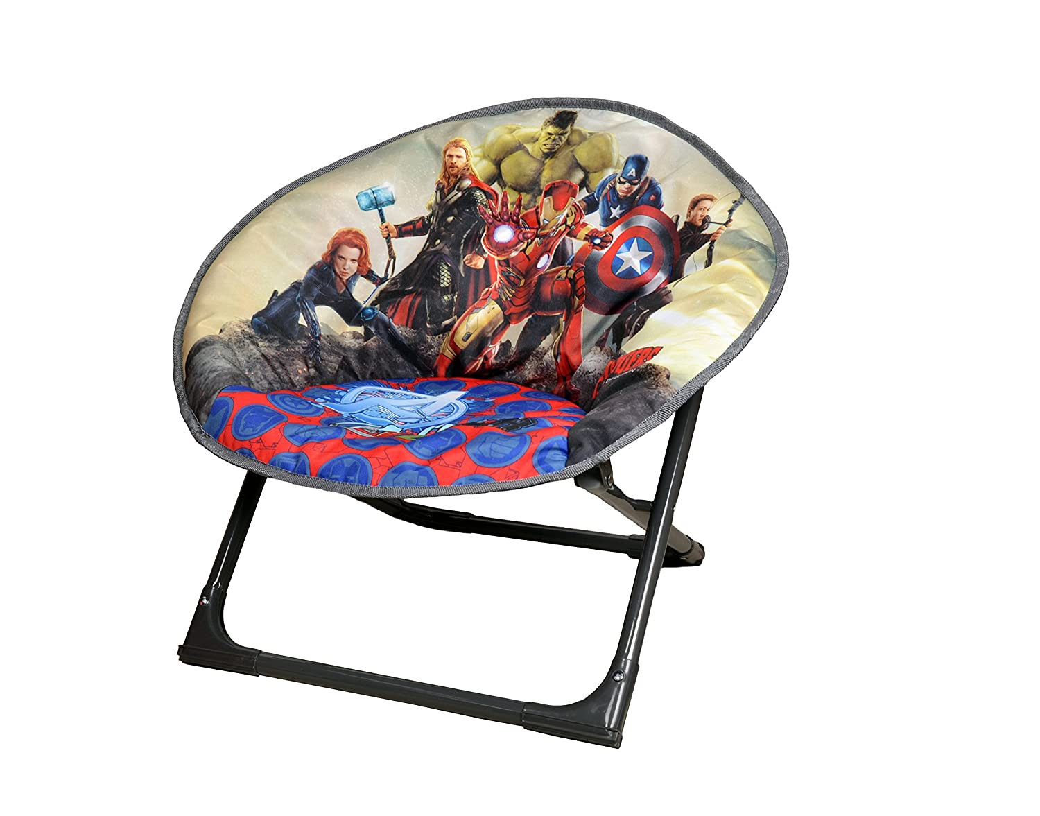 Magnificent Disney Moon Chair Avengers Folding Round Soft Padded Chair For Toddlers Kids Ocoug Best Dining Table And Chair Ideas Images Ocougorg