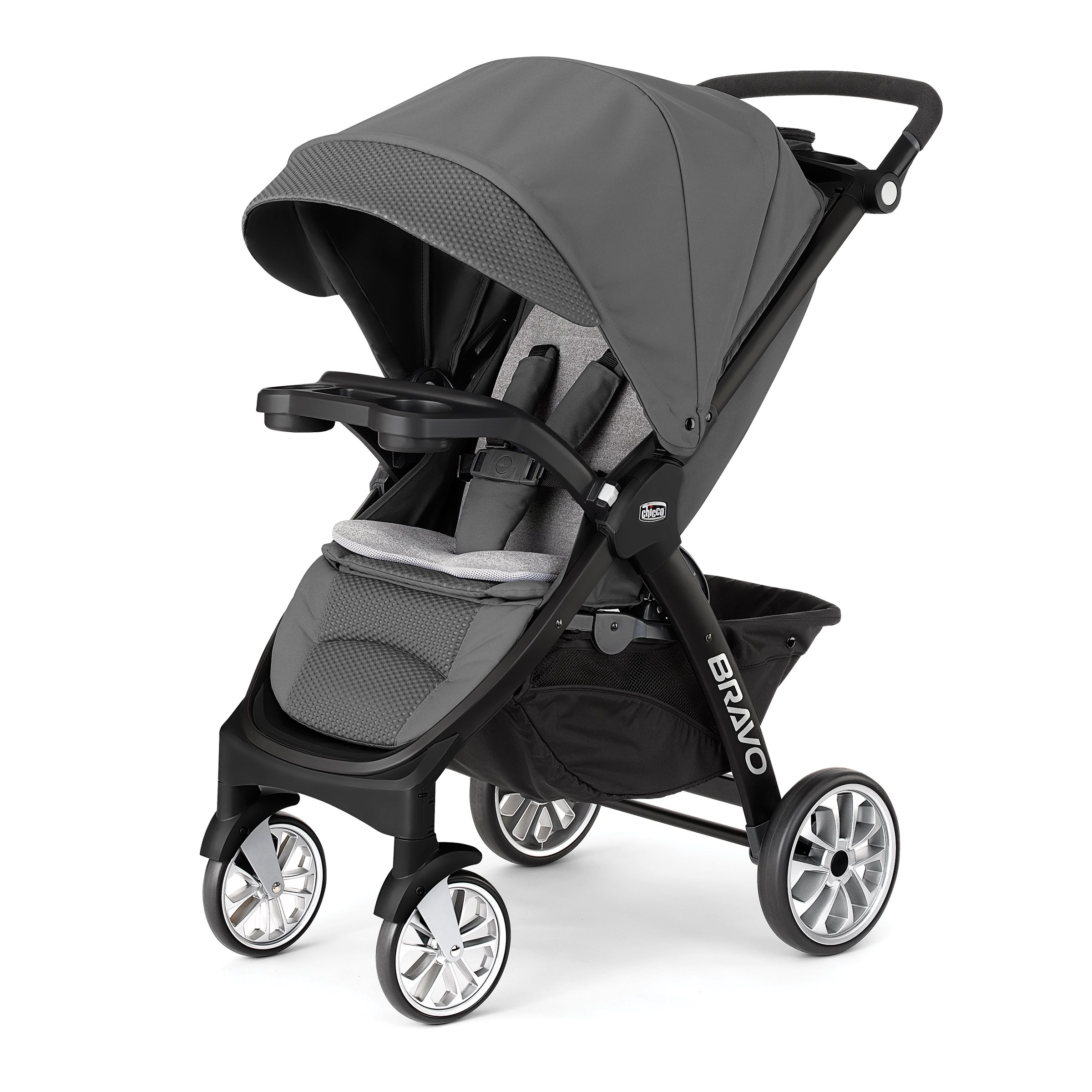 Chicco Bravo LE Quick-Fold Stroller, Coal by Chicco